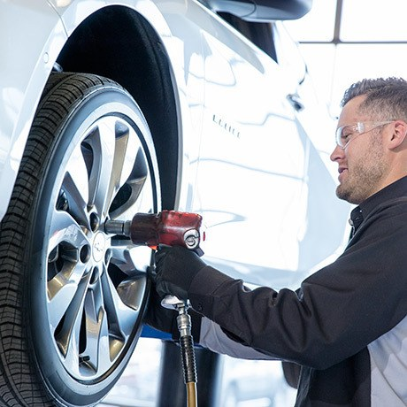 SEASONAL TIRE CHANGE – ON RIMS/WHEELS